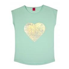 bluzeczka z błyszczącym sercem - A-6604