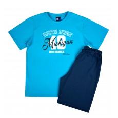 piżama chłopięca krótki rękaw - GT-5208