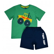 piżamka chłopięca krótki rękaw - GT-5168