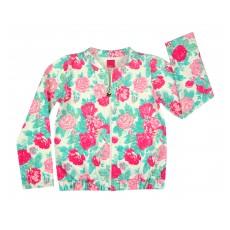 bluza dziewczęca długi zamek - A-6851