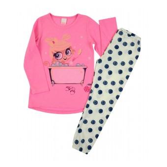 piżama dziewczęca długi rękaw