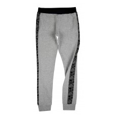 spodnie z motywem koronki - A-6961