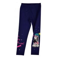 ciepłe legginsy dziewczęce - A-5637