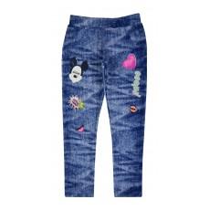 spodnie dziewczęce a`la jeans - A-7017