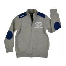 ciepła bluza chłopięca długi zamek - GT-5536