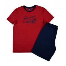 piżama męska krótki rękaw - GT-5552