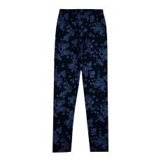 ciepłe legginsy dziewczęce a`la jeans - A-7153