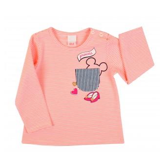 bluzeczka dziewczęca długi rękaw - A-7025