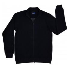 ciepła bluza męska długi zamek - GT-5603