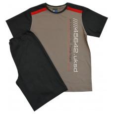 piżama męska krótki rękaw - GT-3004