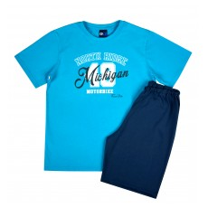 piżama chłopięca krótki rękaw - GT-5207