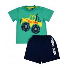 piżamka chłopięca krótki rękaw - GT-5699