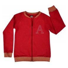 bluza dziewczęca długi zamek - A-5660