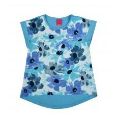 bluzeczka dziewczęca krótki rękaw - A-6818