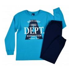 piżama chłopięca długi rękaw - GT-5754