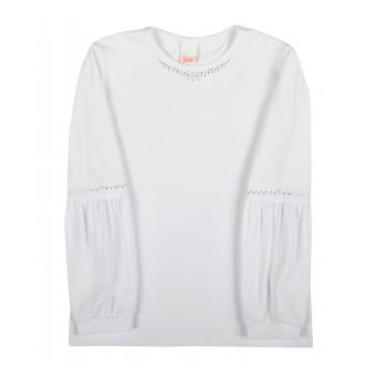 wizytowa bluzeczka dziewczęca długi rękaw