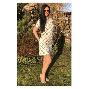 sukienka z kieszonkami - A-7441