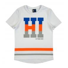 koszulka chłopięca z przedłużonym tyłem - GT-5857