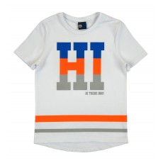 koszulka chłopięca z przedłużonym tyłem - GT-5858