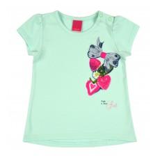 bluzeczka dziewczęca krótki rękaw - A-7533