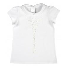 bluzeczka dziewczęca z kołnierzykiem - A-5884