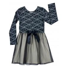 elegancka sukienka z tiulem - A-7208