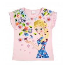 bluzeczka dziewczęca krótki rękaw - A-7485
