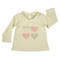 bluzeczka dziewczęca z kołnierzykiem - A-5761