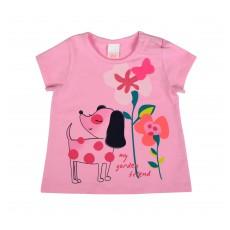 bluzeczka dziewczęca krótki rękaw - A-7425