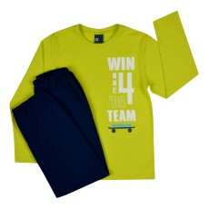 piżama chłopięca długi rękaw - GT-4803