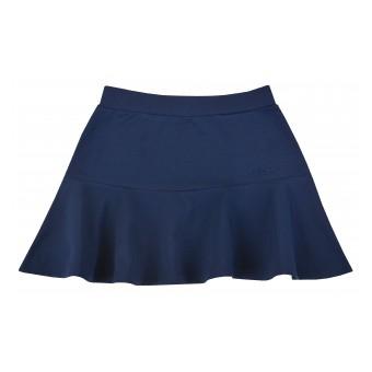 spódnica z odciętą falbanką