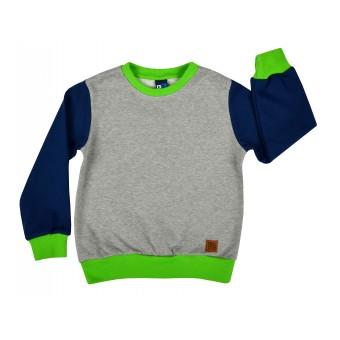 pikowana bluza chłopięca