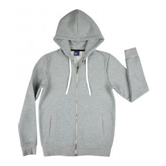 ciepła bluza młodzieżowa długi zamek - GT-6150
