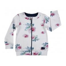 bluza dziewczęca długi zamek - A-7785
