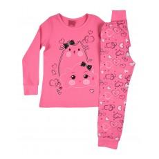 piżamka dziewczęca długi rękaw - A-7827