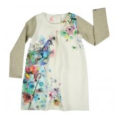 pikowana sukienka - A-7095