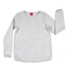 ciepły sweterek dziewczęcy z perełkami - A-7858