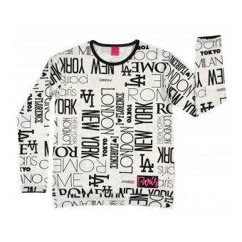 cienka bluza dziewczęca - A-7854