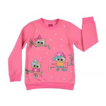 cieplutka bluza dziewczęca - A-7821