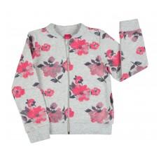 bluza dziewczęca długi zamek - A-7662