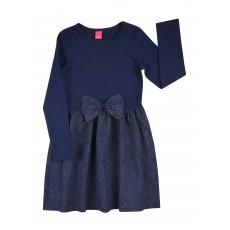 elegancka sukienka z kokardą - A-7882