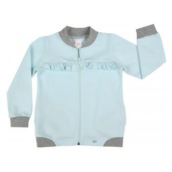 bluza dziewczęca długi zamek - A-7704