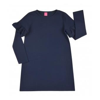 sukienka z efektownymi ramionami - A-7906