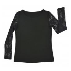 bluzka z koronkowymi rękawami - A-7928