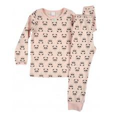 ciepła piżamka dziewczęca długi rękaw - A-7935