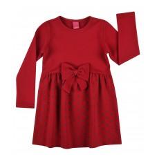 elegancka sukienka dziewczęca z kokardą - A-7940