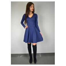 elegancka sukienka z koła - A-7911