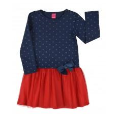 sukienka dziewczęca z tiulem - A-7953