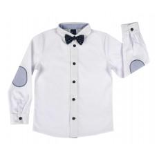 elegancka koszula chłopięca z muchą - GT-6332