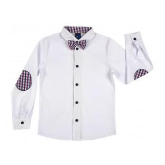 elegancka koszula chłopięca z muchą - GT-6331